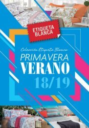 CATALOGO ETIQUETA BLANCA PRIMAVERA - VERANO 2018-19
