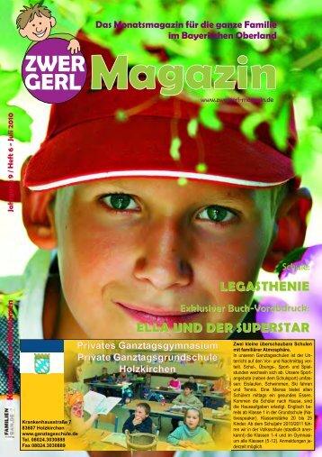 LEGASTHENIE ELLA UND DER SUPERSTAR - Zwergerl-Magazin
