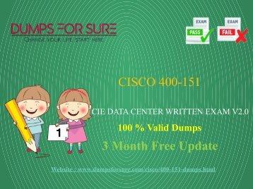 Cisco 400-151 Dumps
