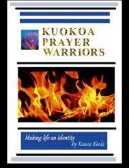 FREE KUOKOAPRAYERWARRIORS Kanoa Keola EBOOK PARCHMENT