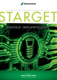 DIGITALE IMPLANTOLOGIE - Straumann