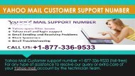 Contact Number 1877-503-0107 For Yahoo Help