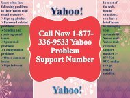 Call Now 1-877-336-9533 Yahoo Problem Support Number-converted