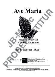 Ave Maria (für Frauenchor SSA)