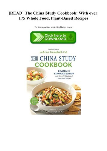 China Study Ebook