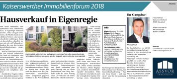 Kaiserswerther Immobilienforum 2018  -11.09.2018-