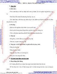 GIÁO ÁN KHTN LỚP 7 TRƯỜNG HỌC MỚI VNEN PHÂN MÔN HÓA HỌC - GV HÀ ANH LINH - TRƯỜNG THCS HẢI THƯỢNG LÃN ÔNG