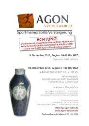 Katalog als PDF - AGON Auktion
