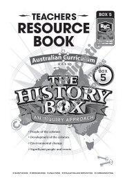 RIC-6189 The History box 5 - Teachers Resource Book