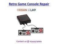 Grab the service of Retro Game Console Repair in Dubai, Dial 0544474009