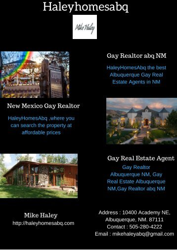 New Mexico Gay Realtor