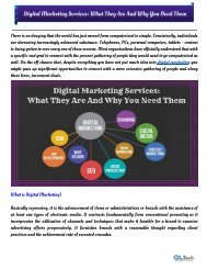 Digital Marketing Services_ What They Are And Why You Need Them