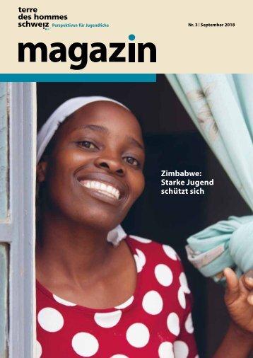 terre des hommes schweiz Magazin 3/2018