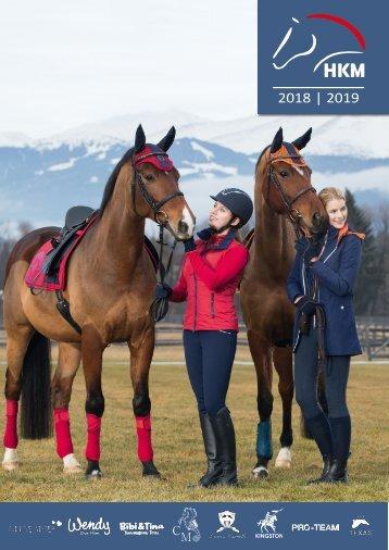 HKM Herbst/Winter 2018/2019 Katalog in englisch mit € Preisen
