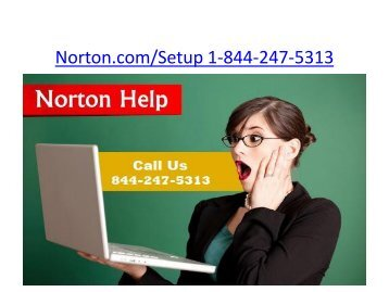 Norton.com/Setup | 1-844-247-5313 | Norton Security