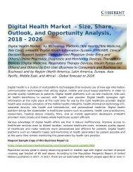Global Digital Health Market Forecast to 2026