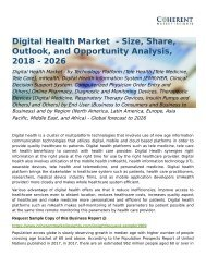 Global Digital Health Market Forecast to 2026