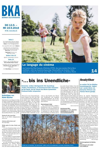 Berner Kulturagenda N° 36