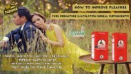 3.How to Improve Pleasure, Cure Premature Ejaculation Herbal Supplements-converted