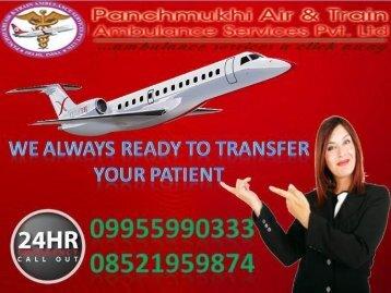 Proper Medical Air Ambulance Service in Ranchi - Panchmukhi