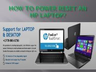 How To Power Reset An HP Laptop-converted