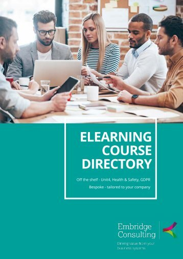 eLearning Course Directory Brochure 2018 v4