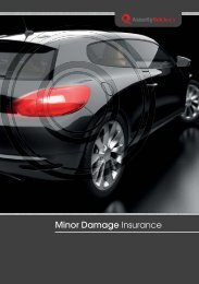 Minor Damage Insurance by Assurity Solutions