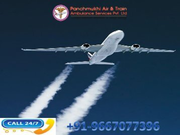 Cost Effective Air Ambulance Service in Ranchi with Medical Team