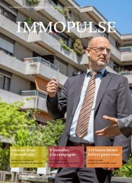 IMMOPULSE Magazine Nr 10 - La vie regorge d'histoires