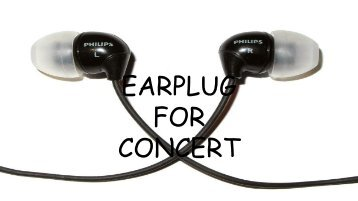 EARPLUG  FOR  CONCERT (1)