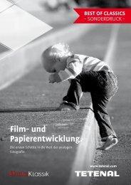 Analoge Film- und Papierentwicklung
