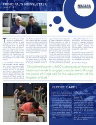 Principal Newsletter June 2018