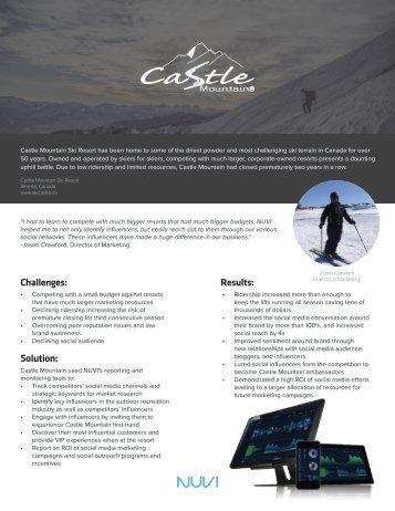 Castle Mountain Case Study