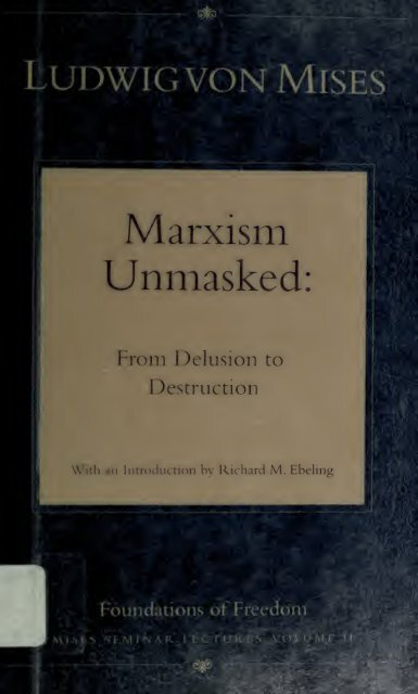 Marxism Unmasked from Delusion to Destruction pdf 7471KB