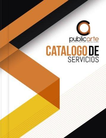 CATALOGO PUBLIC ARTE