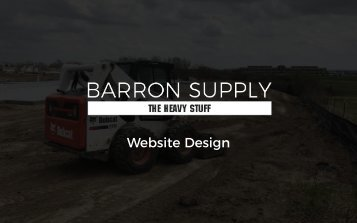 Barron Supply Website Design