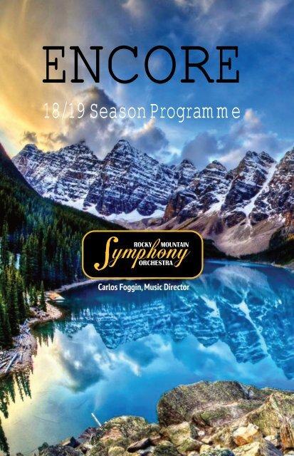 RMSO 2018-19 Season Brochure
