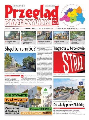 Przegląd Piaseczyński, wydanie 209