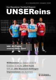 UnserEins - Ausgabe 1 2017-18