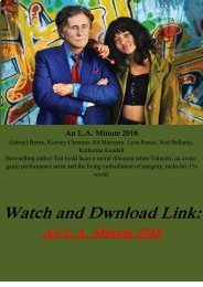 Streaming  FULL MOVIE An LA  Minute 2018 Streaming Online FREE HD-BLURAY