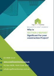 Why is Section J Report Significant for Your Construction Project?