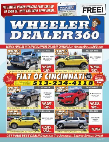 Wheeler Dealer 360 Issue 37, 2018