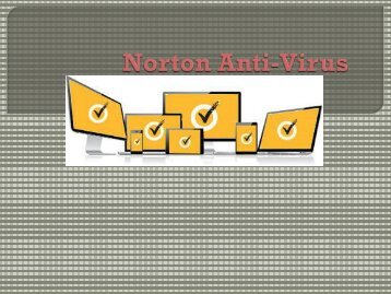 Norton Anti-Virus ppt