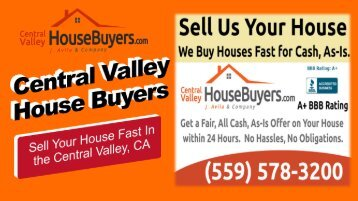 Selling your House in Reedley CA – Central Valley House Buyers