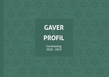 Sport & Profil - Gavekatalog 2018