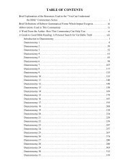 deuteronomy 3 paragraph divisions of modern translations