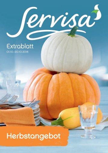 Servisa Extrablatt 201810