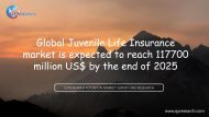 Global Juvenile Life Insurance market is expected to reach 117700 million US$ by the end of 2025