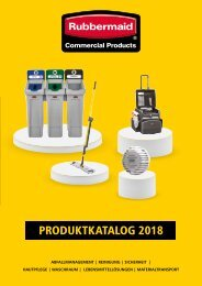Rubbermaid Produktkatalog 2018