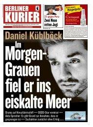 Berliner Kurier 10.09.2018